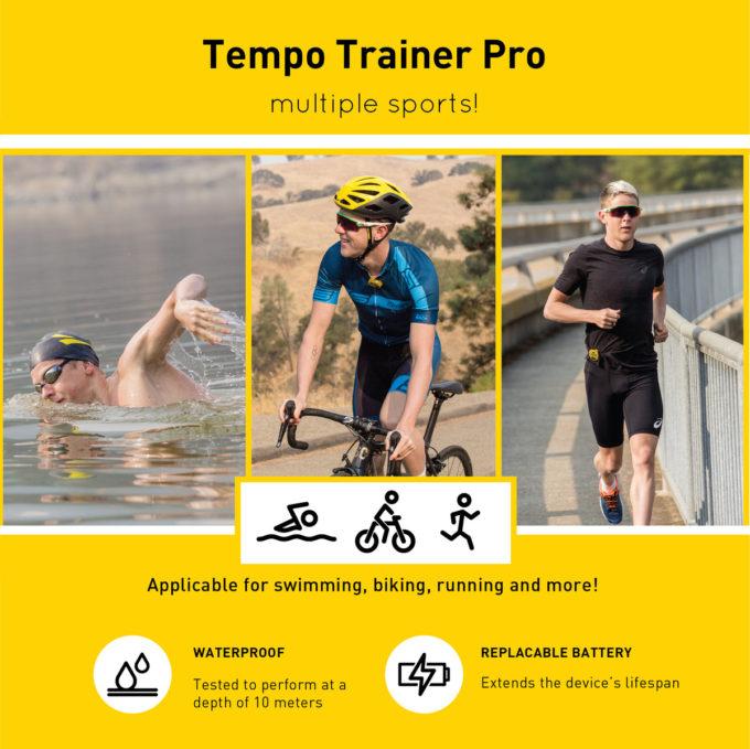 Finis Tempo Trainer Pro Uitleg diversen sporten Apexswim