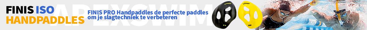 Finis Iso Handpaddles banner
