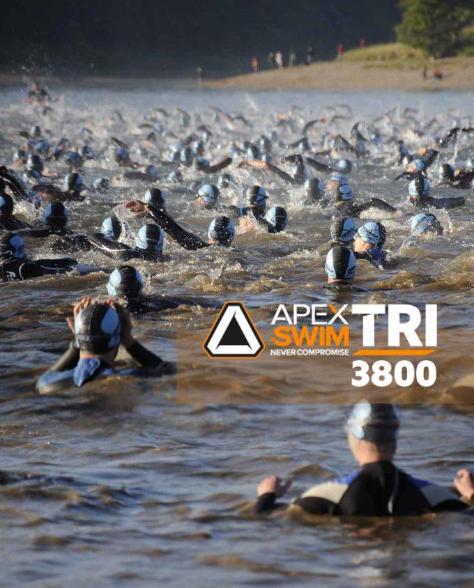 Apexswim Tri 3800 Triathlon zwemtraining Actie